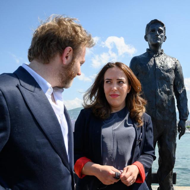 Stella Morris i odvjetnik Assangea, Antoine Vey