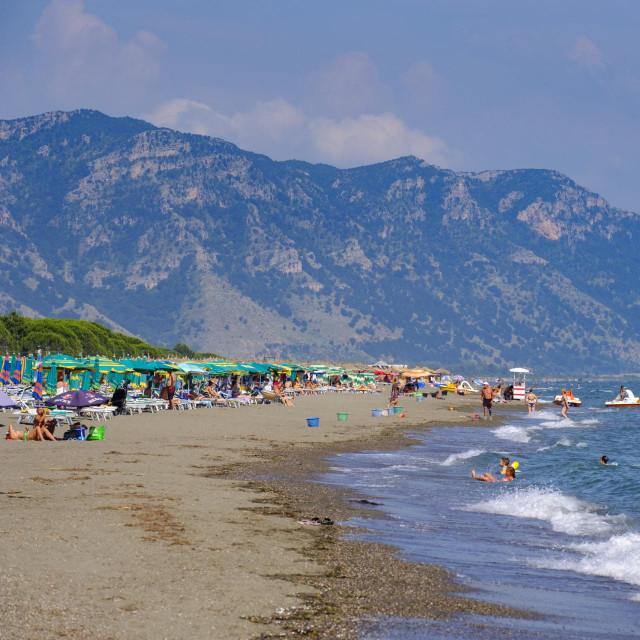 Plaža Velipoja na kojoj se dogodila pucnjava