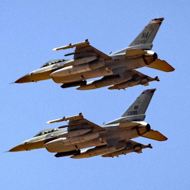 Američki zrakoplovi F-16