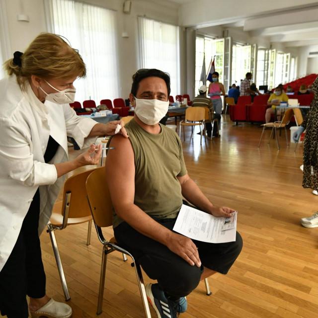Cijepljenje u Andriji Štamparu