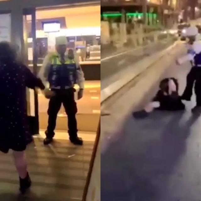 Muškarac premlatio ženu nakon incidenta