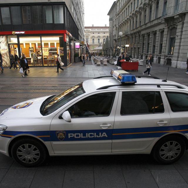 Policija u Zagrebu, Ilustracija