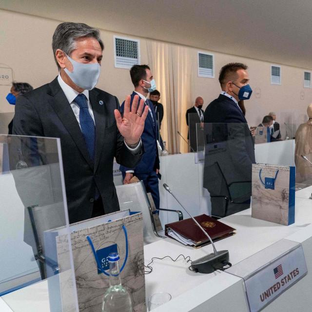 Antony Blinken na sastanku zemalja G20 u Materi