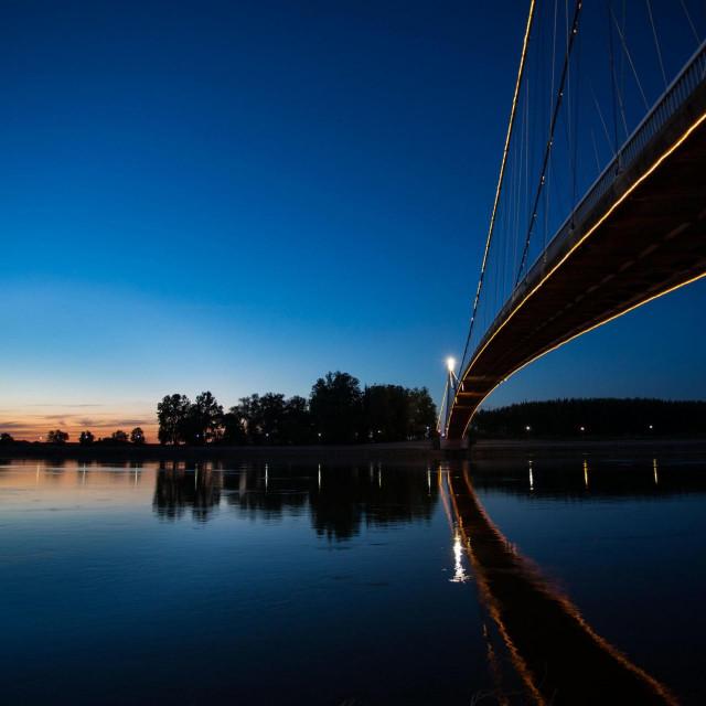 Zalazak sunca u Osijeku