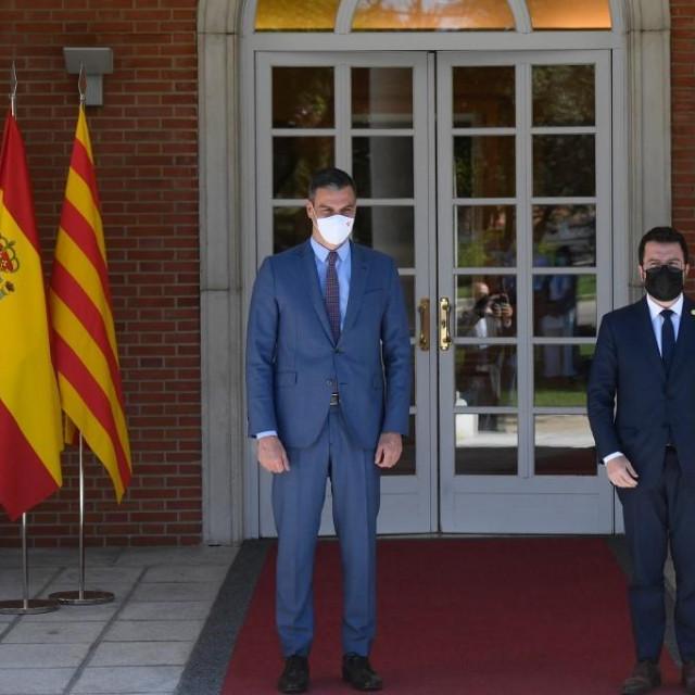 Pedro Sanchez i Pere Aragones