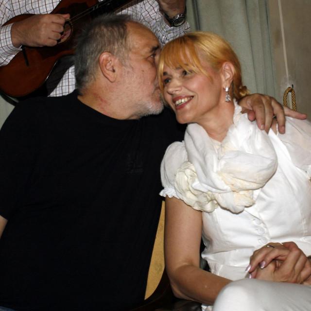 Đorđe Balašević sa suprugom Oliverom