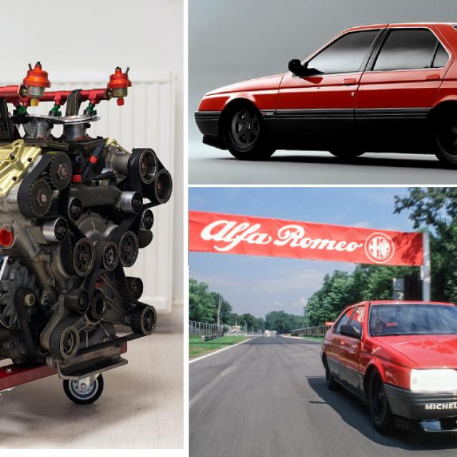 Alfa Romeo V10 F1 motor