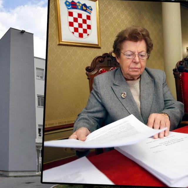 Dječja bolnica Srebrnjak (glavna fotografija), Ana Stavljenić Rukavina (desno)