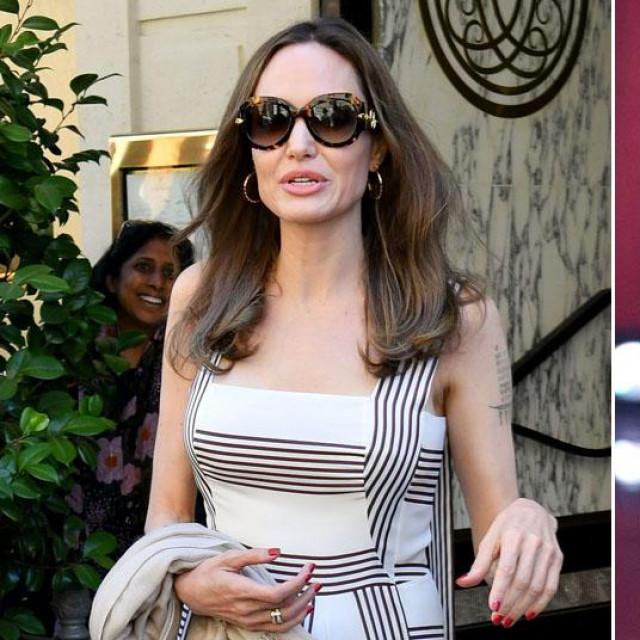 Angelina Jolie i The Weeknd