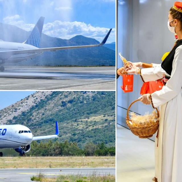 Avion Boeing 767-300 United Airlinesa sletio je u Dubrovnik