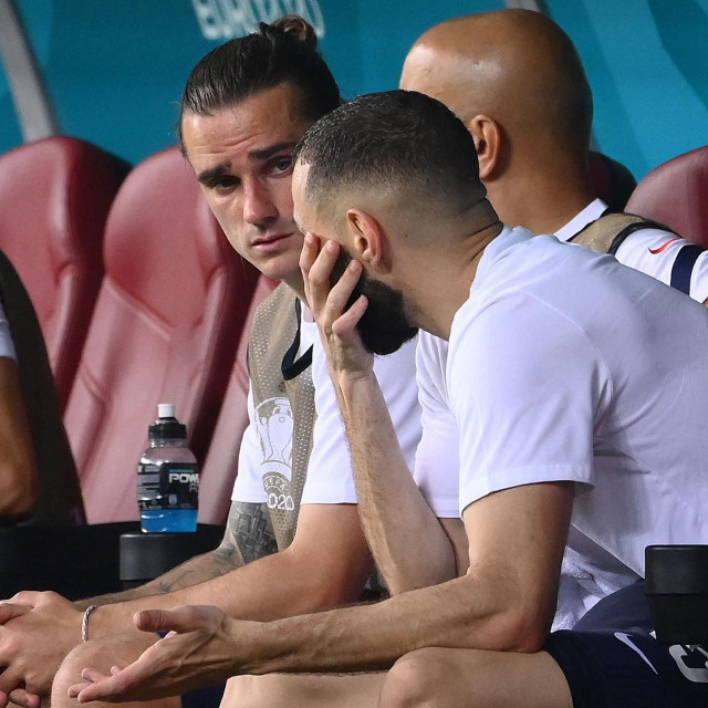 Antoine Griezmann i Karim Benzema