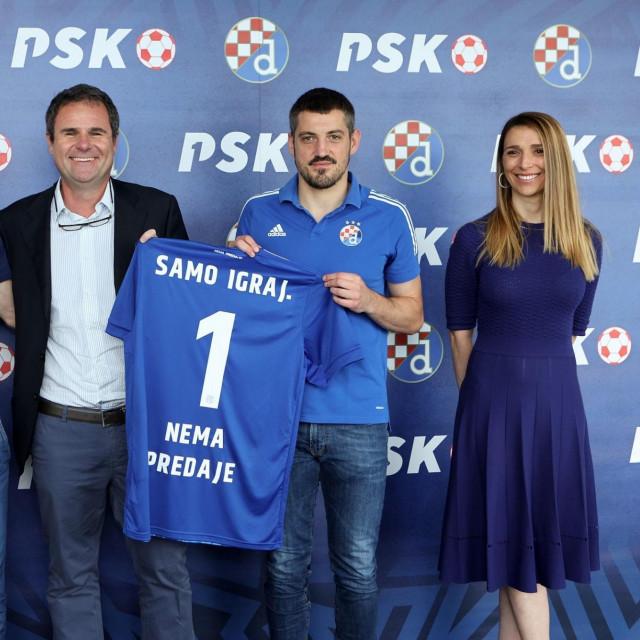 Službeno je predstavljena suradnja GNK Dinamo i PSK