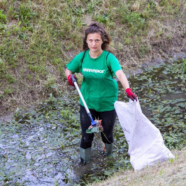 Akcija čišćenja potoka Črnomerec