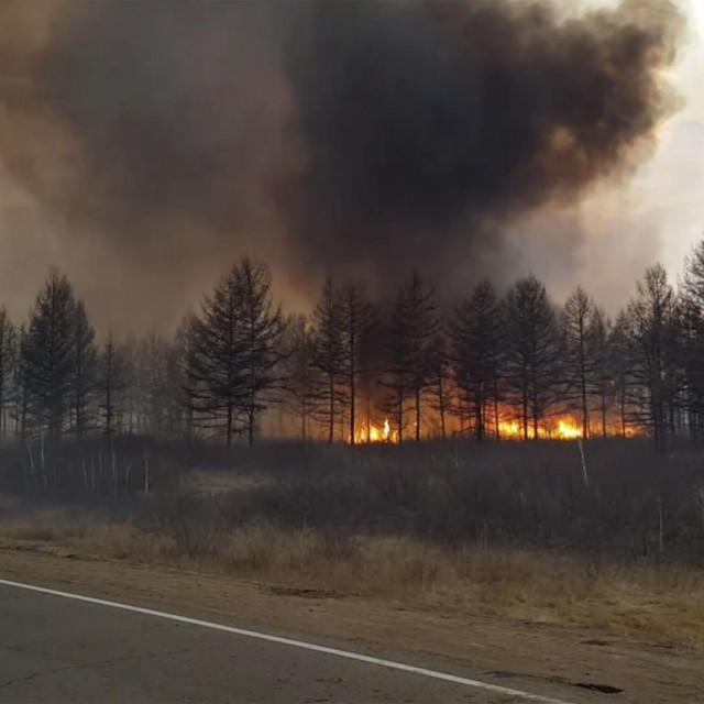 Šumski požari u Rusiji