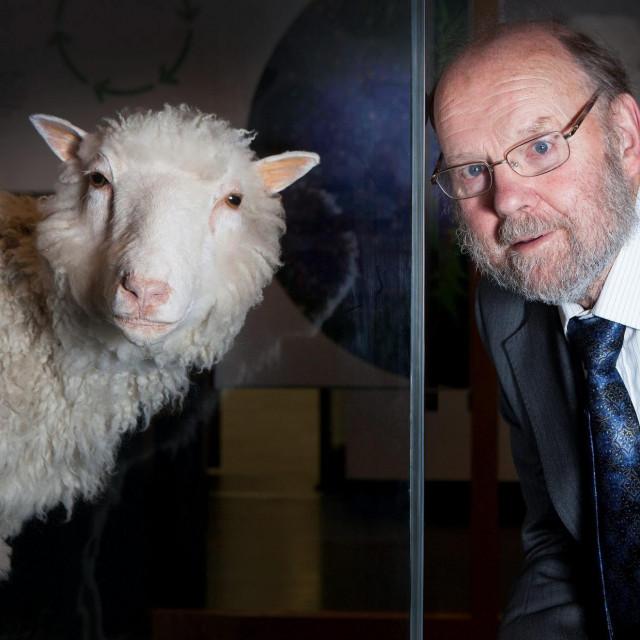 Sir Ian Wilmut i ovca Dolly