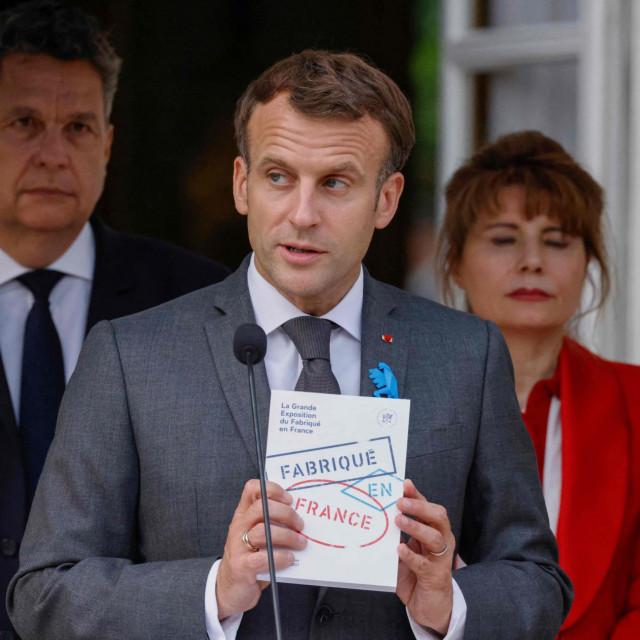 Francuski predsjednik Emmanuel Macron