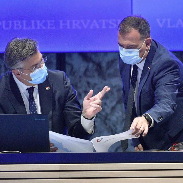 Ministarstvo zdravstva Vilija Beroša (desno) tvrdi da radi na pripremi prijedloga Zakona
