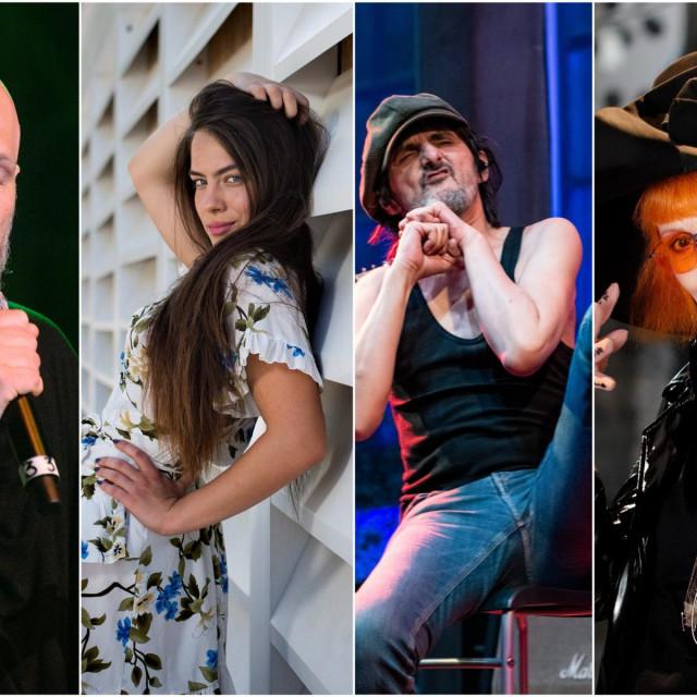 Damir Urban, Ana Uršula Najev, Goran Bare, Josipa Lisac
