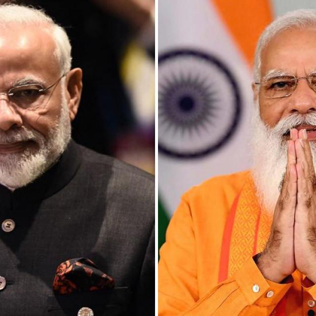 Narendra Modi, prije i poslije