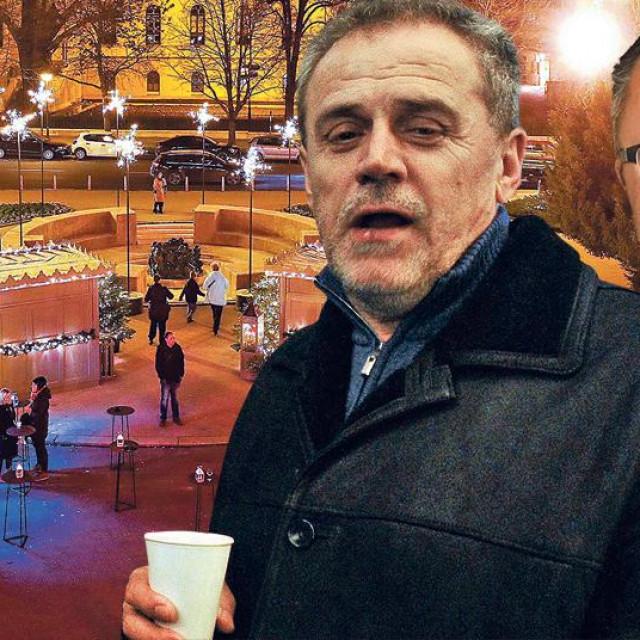 Milan Bandić i poslovni partner njegova vozača Zdravka Krajine, ugostitelj Denis Mohenski