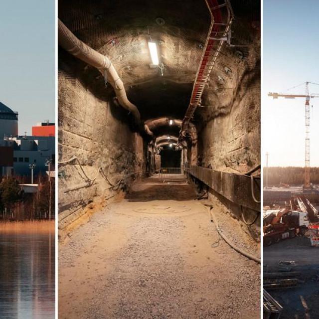Olkiluoto nuklearna elektrana - gradilište i reaktor