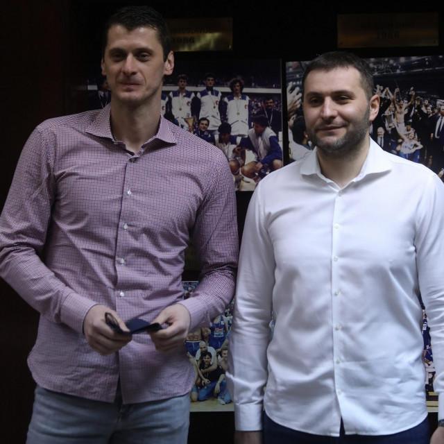 Marin Rozić i trener Vladimir Jovanović