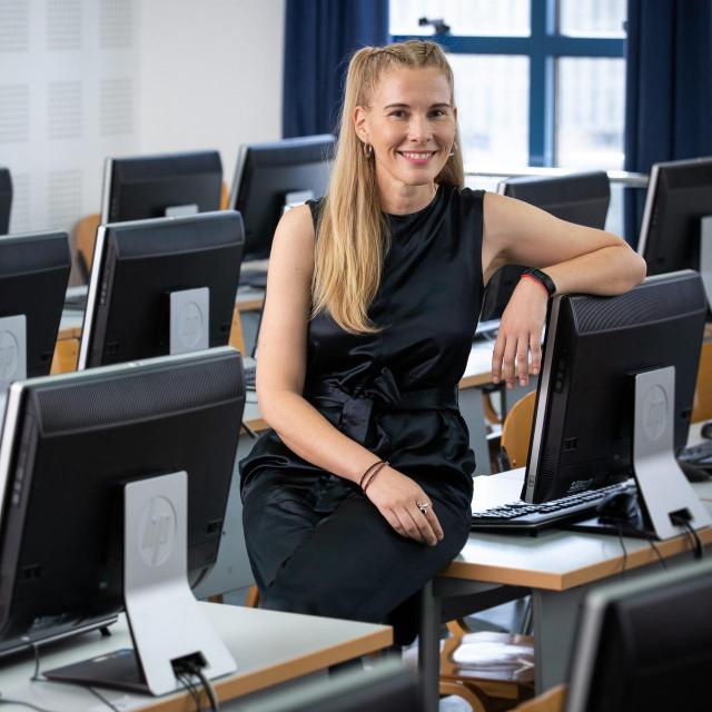 Dr. sc. Maja Cukusic sa Katedre za poslovnu informatiku Ekonomskog fakulteta u Splitu<br /> <br />