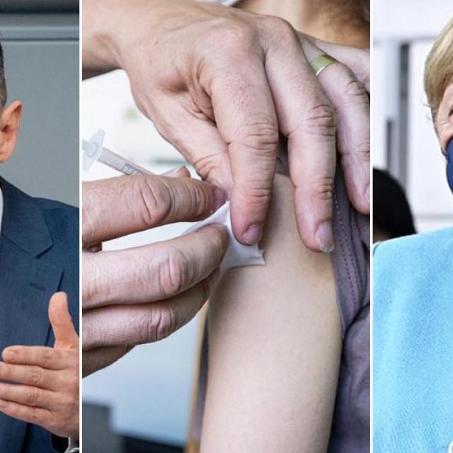 Heiko Maas, cijepljenje i Angela Merkel