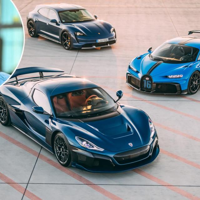 Mate Rimac, Porsche Taycan, Bugatti Chiron, Rimac Nevera
