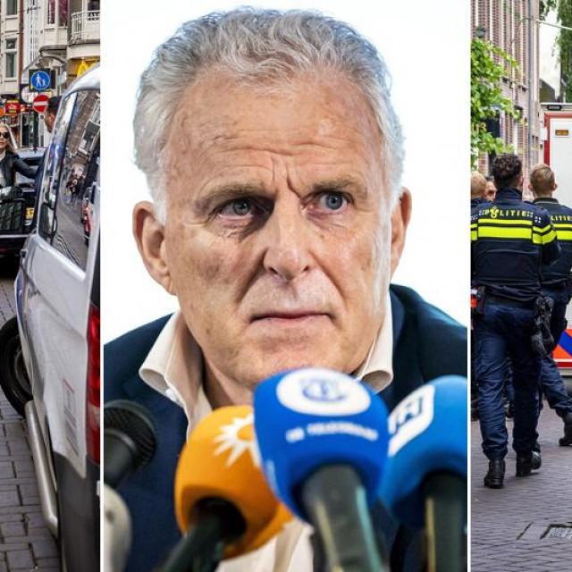 Mjesto napada u Amsterdamu i Peter R. de Vries