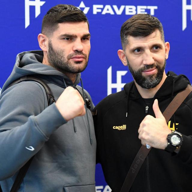 Filip Hrgovic i Yousef Hasan