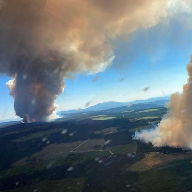 Šumski požari u Kanadi