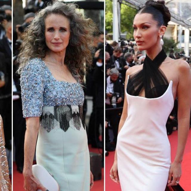 Candice Swanepoel, Andie McDowell, Bella Haddid i Helen Mirren