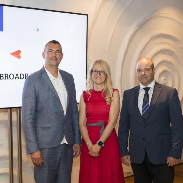 A1 Goran Matos, Martina Dragicevic i Tomislav Makar