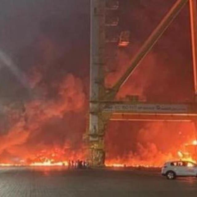 Požar u Dubaiju