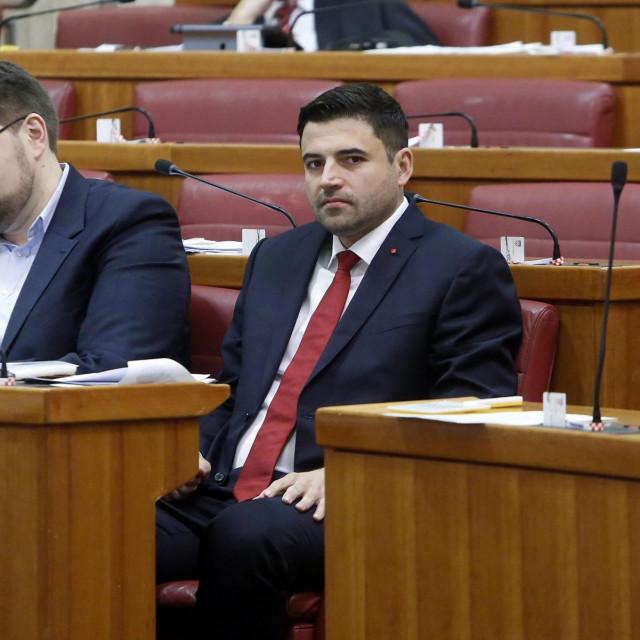 Pedja Grbin, Davor Bernardić