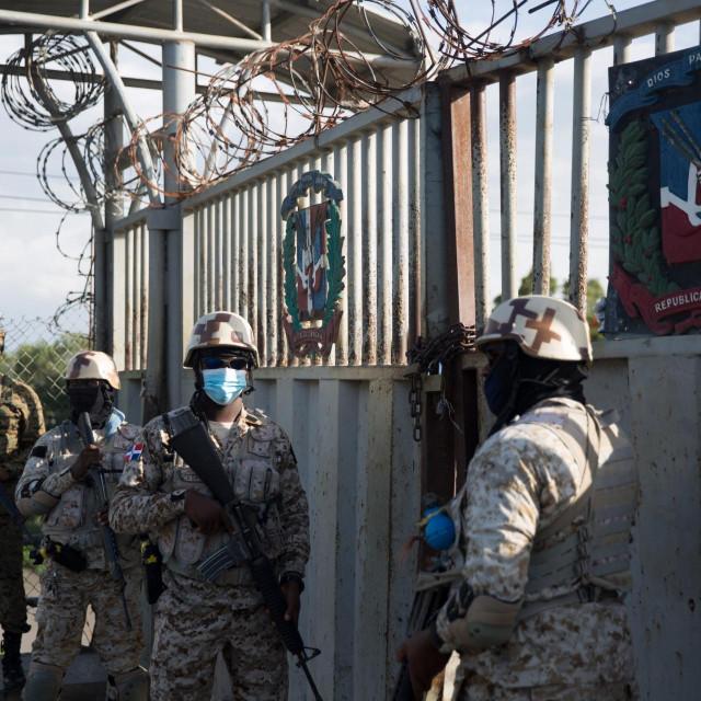 Predsjednik Dominikanske Republike naredio je strogo čuvanje granice s Haitijem