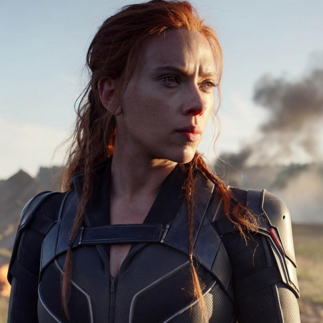 Scarlett Johansson kao Crna udovica
