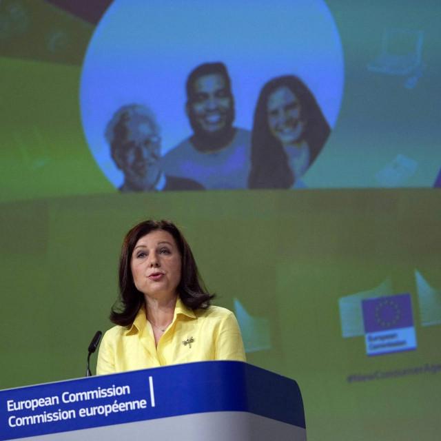 Potpredsjednica Europske komisije za transparentnost i vrijednosti Věra Jourová
