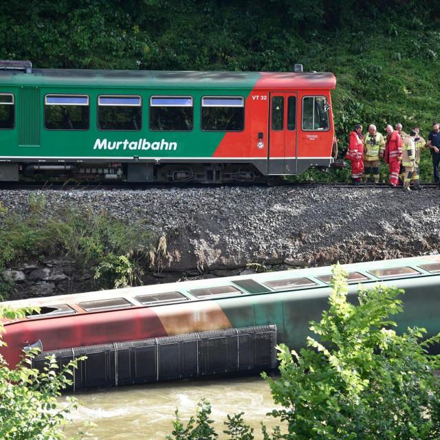 Teška željeznička nesreća u Austriji