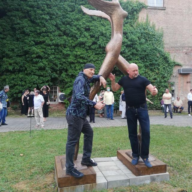 """Izložba """"Umjetnost u vrtlogu strasti, nemira i napetosti"""" Stephana Lupina u Gliptoteci"""