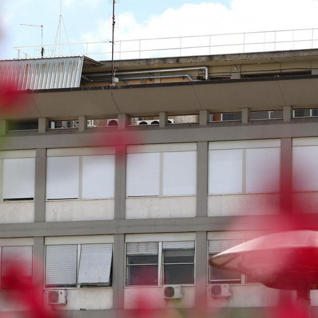 Pogled na 10. kat bolniceGemelli gdje se liječi papa