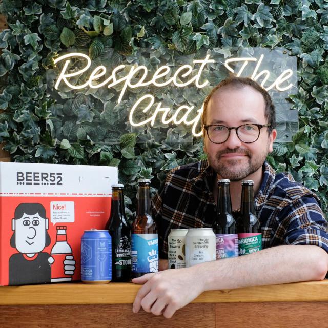 Urednik časopisa Ferment Richarda Croasdale, koji je srpanjski broj posvetio hrvatskim pivarima