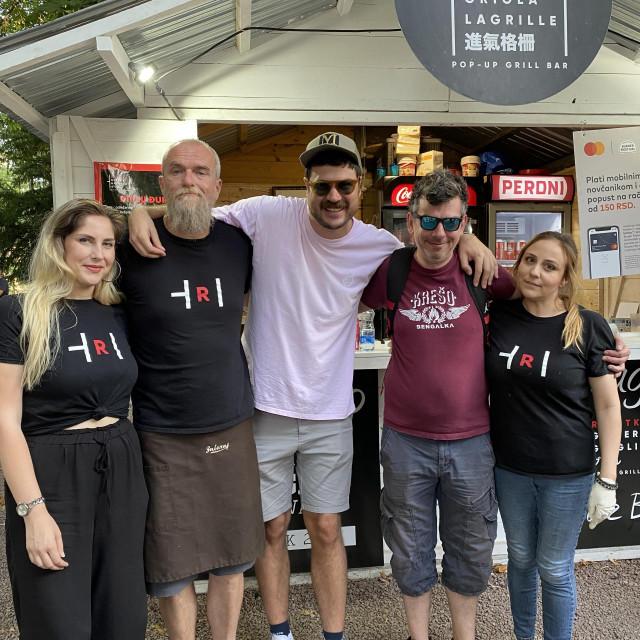 Team Reshetke s organizatorom festivala