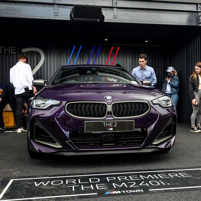 Predstavljanje BMW serije 2 na Goodwood festivalu brzine