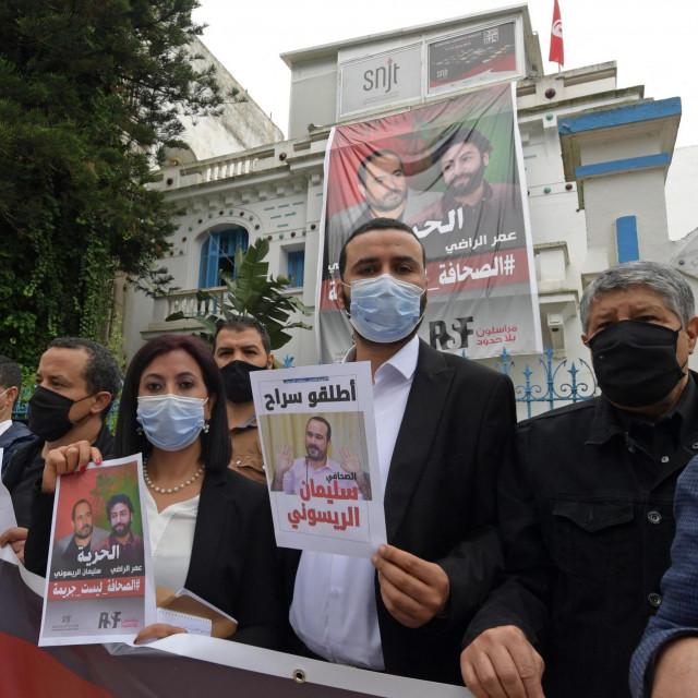 Skup podrške zatočenom novinaru