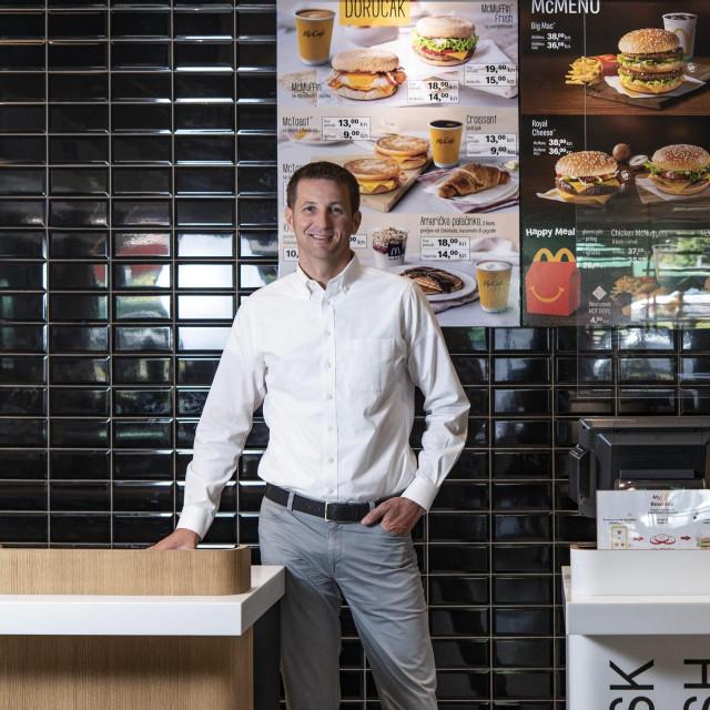 Pavel Pavliček, direktor McDonald's Hrvatska