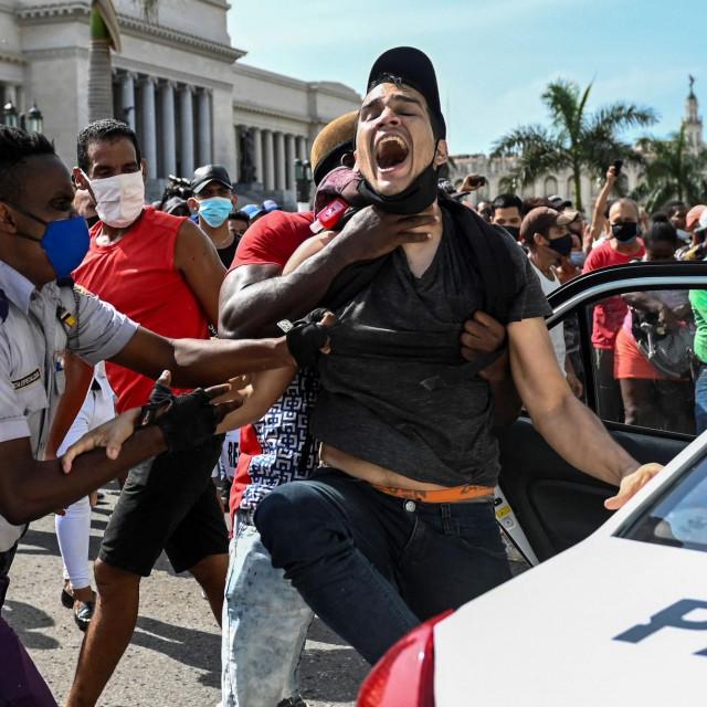 Prosvjedi na Kubi