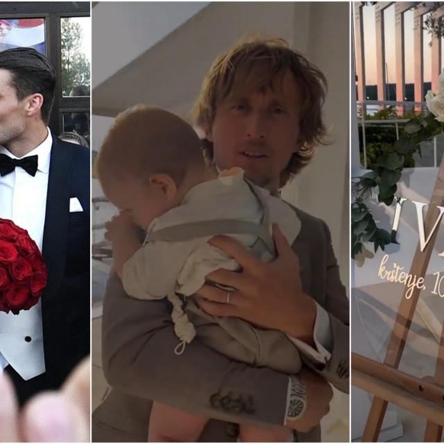Mateo i Izabel Kovačić krstili su sina Ivana, a kum mu je bio Luka Modrić