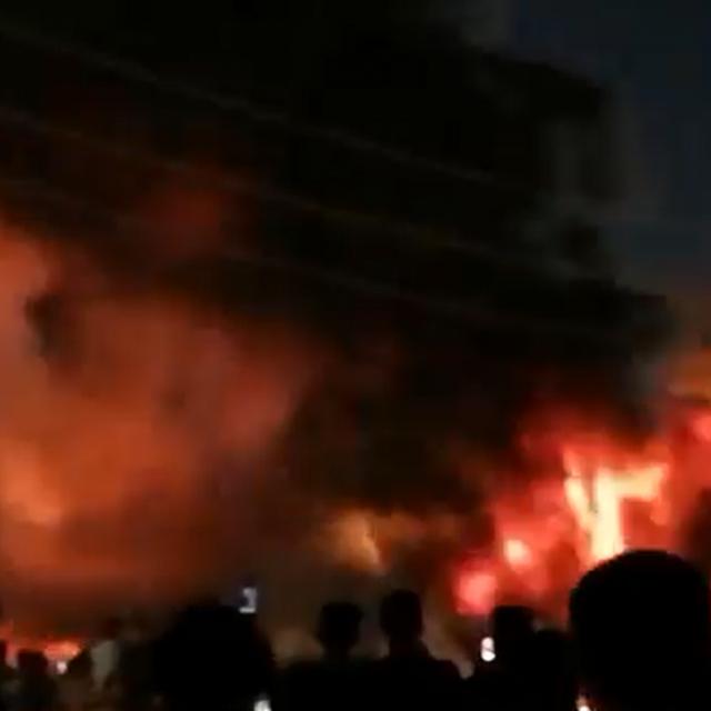 Izgorjela bolnica u Iraku
